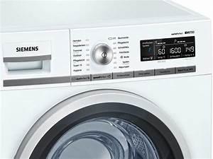 Siemens Waschmaschine 1600 : siemens wm16w540 stand waschmaschine wei waschautomat ~ Michelbontemps.com Haus und Dekorationen