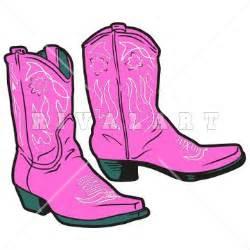 Dancing Cowboy Boots Clip Art