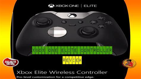xbox elite controller review xbox one elite controller review e3 2015