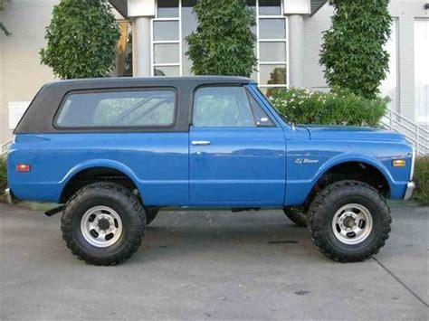 Chevrolet Blazer For Sale by 1972 Chevrolet Blazer For Sale Classiccars Cc 994196
