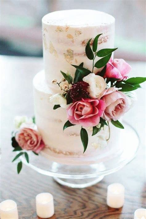 cakes decorated with fresh flowers 25 sweetheart wedding cakes fresh flowers cake and flower