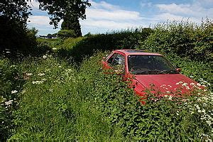abandoned vehicle wikipedia