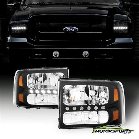 led drl 1999 2004 ford f250 f350 superduty excursion