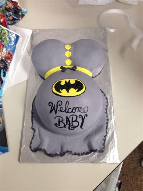 batman baby bump baby shower cake baby shower cakes