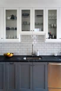 White Cabinets And Granite Countertops by Remodelaholic Decorating With Black 13 Ways To Use Dark