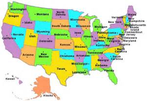 United States Map Games