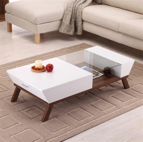hokku designs coffee table hokku designs braxton coffee table white modern