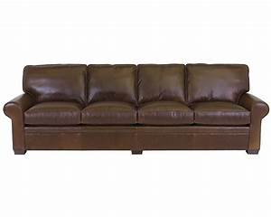 Classic leather library sofa 11518 115 leather furniture usa for Leather sectional sofa usa