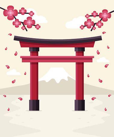 japanese shrine clipart clipground