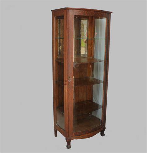 24 inch wide cabinet bargain s antiques oak currio cabinet 3840