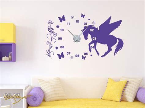 Kinderzimmer Uhr Mädchen by Wandtattoo Pferd Verschiedene Motive