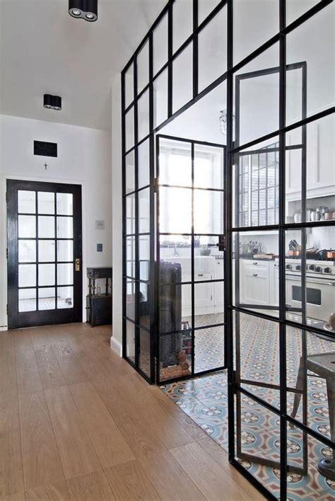 remplacer porte cuisine la verrière intérieure jolies photos et tutos pour réaliser la meilleure verrière archzine fr