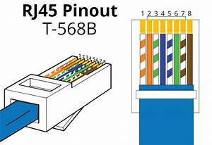 568b Rj45 Color Wiring Diagram Cat6