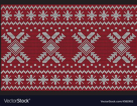 Oversized knitwear sweater unisex christmas pattern hip hop streetwear pullovers. Christmas Sweater Design Seamless Pattern Vector Image