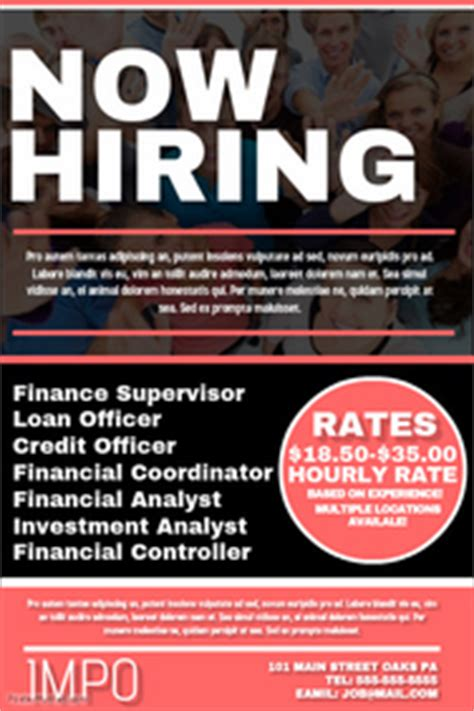 now hiring template 150 customizable design templates for now hiring flyer postermywall