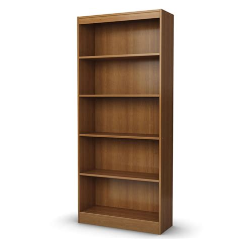 south shore axess 5 shelf bookcase by oj commerce 112 04