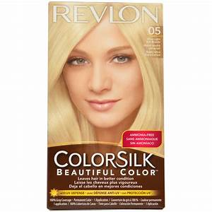 ColorSilk Beautiful Color 05 Ultra Light Ash Blonde Revlon ...