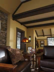 Craftsman Style Home Interior Design A Craftsman Living Room Hgtv