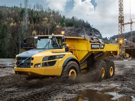 Volvo Articulated Dump Truck by New Volvo A40g Trucks For Sale