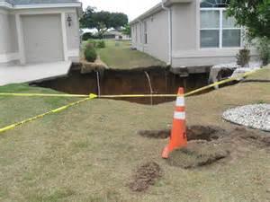 Villages Florida Sinkhole