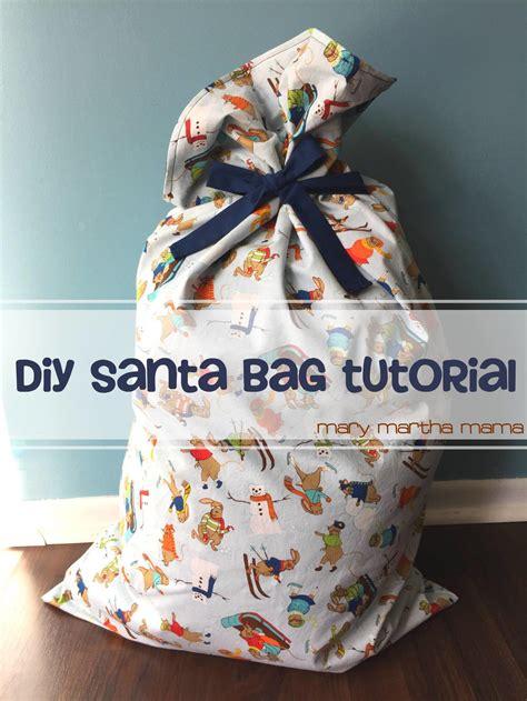 red santa sack for babies pictures easy diy santa bag tutorial allfreesewing