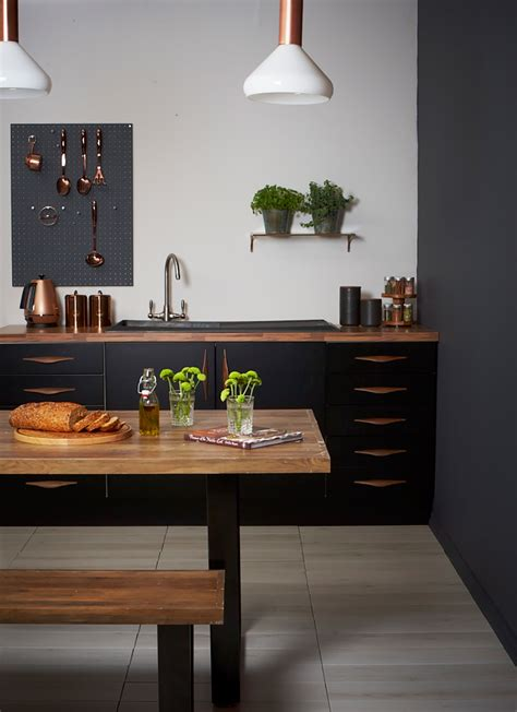 Black Matte Kitchen Designs That Will Steal Your Attention