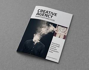 Indesign Brochure Creative Agency A4 Portfolio Catalog Brochure On Behance