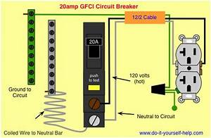 Wiring Diagram Gfci Circuit Breaker