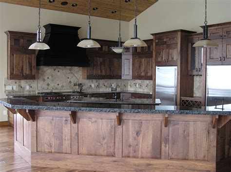 country kitchen island ideas rustic walnut kitchen cabinets roselawnlutheran