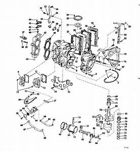 Johnson Powerhead Group Parts For 1969 25hp 25rl69b
