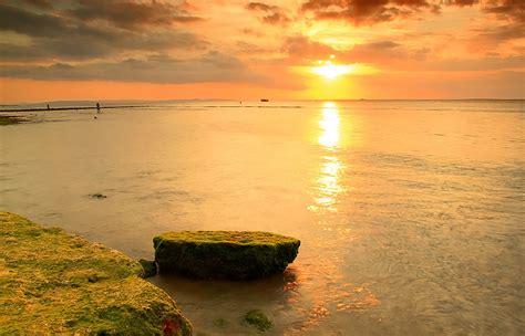 indonesia sungguh indah senja senja  pesisir pantai