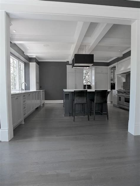 grey wood floors kitchen gray hardwood floor home design ideas pictures remodel 4099