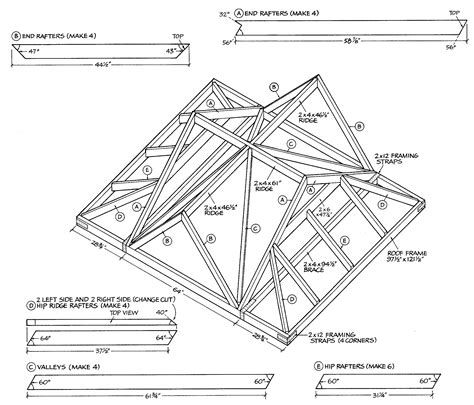 gable roof plans karen bl learn tuff shed plans free
