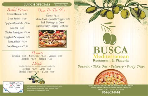 Busca Mediterranean Restaurant & Pizzeria Menu. Salt Lake City Electrician Pvc Adhesive Tape. Best Stock Trading Software Mba In Virginia. How To Become A Certified Personal Trainer Online. Comcast Cable Vancouver Wa Living Life Quote. Las Vegas Answering Service Car Wreck Photos. Beautiful Real Estate Websites. Sports Management Online Degree. Best Online Trade Broker Sat Prep Course Cost