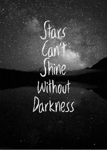 Shine Darkness Stars Without Quotes Quote Eyes