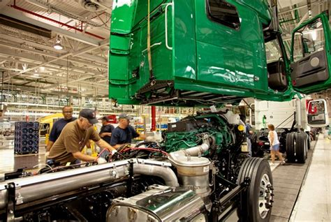volvo truck manufacturing plants heavy duty truck manufacturing value up more than 50