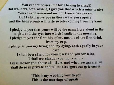 Irish Marriage Vows