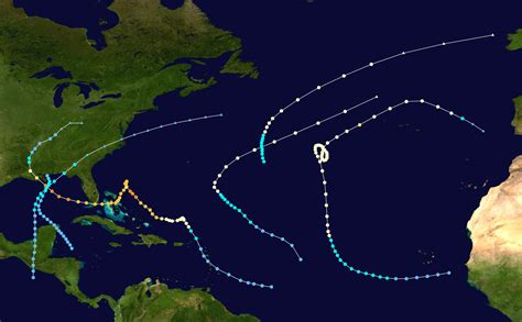1965 Atlantic Hurricane Season Wikipedia