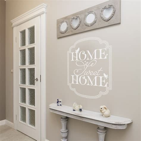deco home sweet home stickers muraux sticker texte home sweet home d 233 coration murale gali