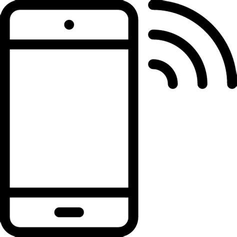 phone wifi phone wifi icon line iconset iconsmind
