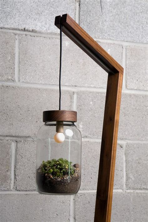 standing lamp  hanging potted plant shade  great