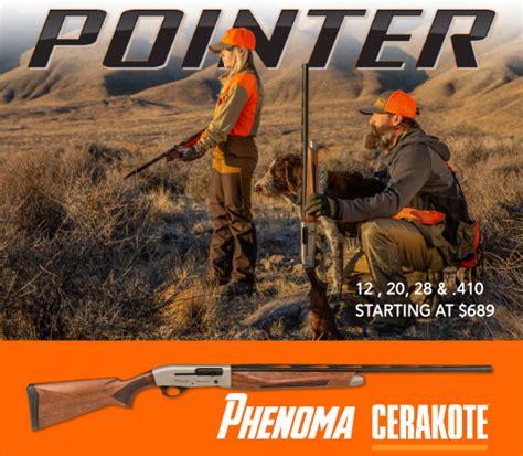 pointer shotguns displaying  nra shooting wire