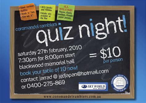 trivia night flyer templates trivia night flyer quiz night flyers flyers promo