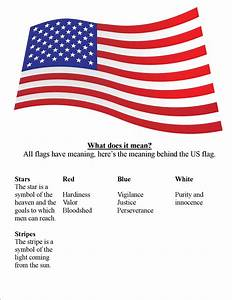 Meaning of The US Flag Colors, Stripes and Stars - About Flags