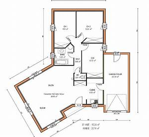 Plan Maison U : plan de maison en u gratuit ~ Dallasstarsshop.com Idées de Décoration