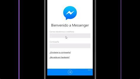 cerrar sesion messenger windows phone