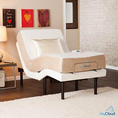sei mycloud twin xl size adjustable bed frame bjs
