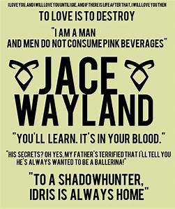 Jace Herondale Quotes by @quotesgram | the mortal ...