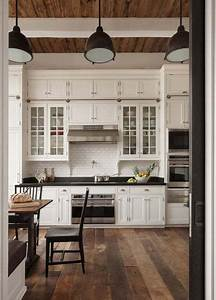 glass cabinets with solid cabinet doors on top love the With kitchen cabinets lowes with high ceiling wall art