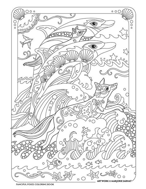 fanciful foxes marjorie sarnat design illustration